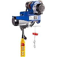 MSW - Laufkatze PROCAT 800 - 540 Watt - bis zu 800 kg Hebeleistung - 230 Volt/6,3 Ampere Stromaufnahme - Elektromotor mit 1300 Watt - Kabelzugentlastung