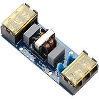 Tablero de filtro EMI 6A / 25A Placa de filtro de potencia de paso bajo de una etapa y alta frecuencia para fuente de alimentación, instrumento de medición de precisión(6A)