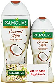 Palmolive Shower Gel Cream Gourmet Spa Coconut Milk, 500ml + 250ml