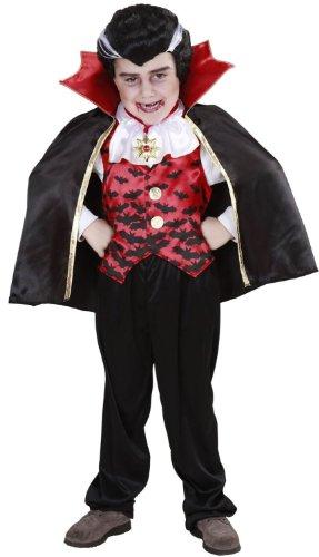 WIDMANN 2843V - Kinderkostüm Dracula, Größe 110 / 116