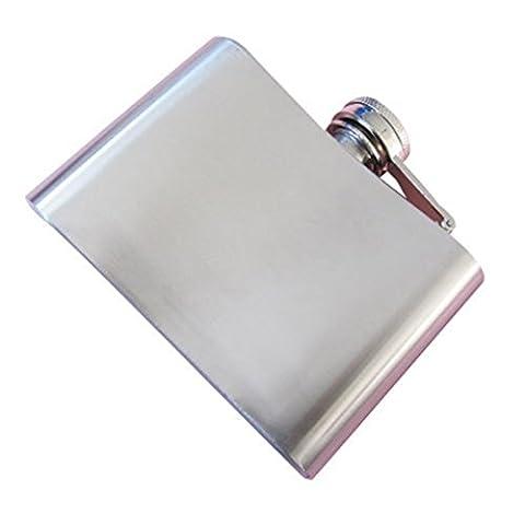 RuiChy Stainless Steel Whisky Liquor Alcohol Pocket Hip Flask-4oz