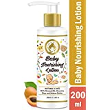 Mom & World Baby Nourishing Lotion - With Almond Oil, Aloevera, Shea & Kokum Butter - 200ml