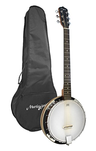 Martin Smith BJ-003 Banjo, 6 string