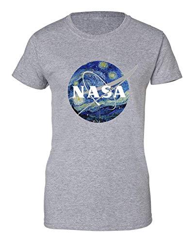2b NASA Space Painting Camiseta de Mujer X-Large