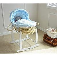 MCC Orlando BABY Gitterbett Kinderbett mit wasserabweisender Matratze und Wickelauflage Babybett GRAU umwandelbar und h/öhenverstellbar