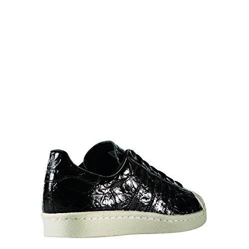 adidas Originals Superstar 80s W, core black/core black/off white Nero