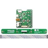 MakerHawk - Kit de 4 micrófonos para Altavoces (Incluye Accesorio de Voz Hat 4 micrófonos de Array), basado en AC108 ADC AC101 DAC Chip AI, Aplicaciones de Voz, Raspberry PiZero/Zero W/3B/2B/B+