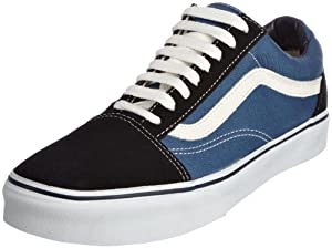 Vans Unisex-Erwachsene Old Skool Sneakers, Colour is Blue (Navy), 38.5 EU