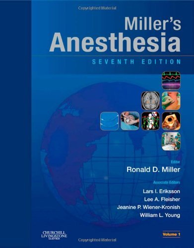 Miller's Anesthesia 2 volume set: Expert Consult - Online and Print by Ronald D. Miller MD MS (2009-06-24)