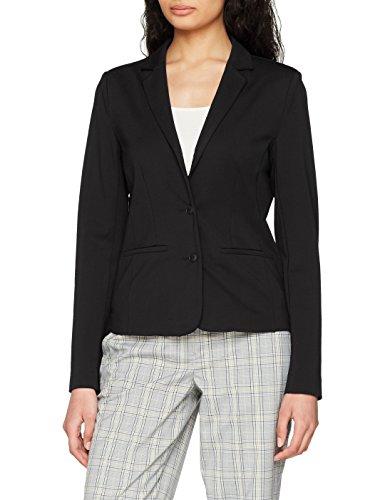 ONLY NOS Damen Anzugjacke Onlpoptrash Blazer Noos, Grau (Black), 42 (Herstellergröße: XL)