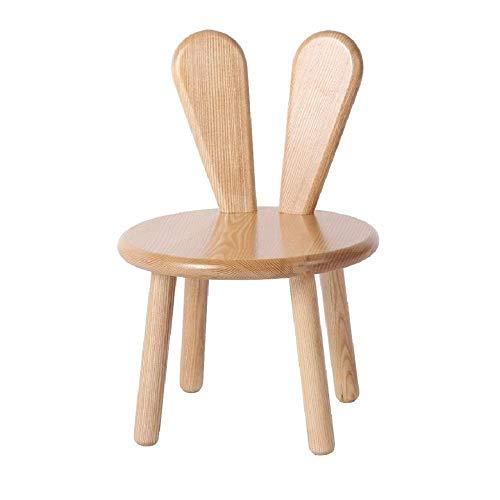 Zapateros Taburetes de bar |Silla de madera del asiento del taburete niños o madera sólida taburete...