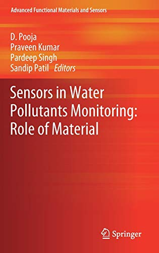 Sensors in Water Pollutants Monitoring: Role of Material (Advanced Functional Materials and Sensors)