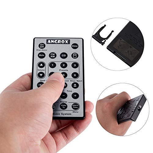 angrox Universal Ersatz Fernbedienung für Bose SoundTouch Wave Musik Radio CD-System I II III 4. 5. CD Multi Disc Player awrcc1 awrcc2 - Radio Multi Cd-player