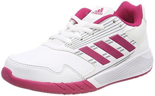 adidas Unisex-Kinder AltaRun K Laufschuhe, Mehrfarbig (FTWR White/Bold Pink/Mid Grey S14), 36 - Mädchen Sneakers Mid