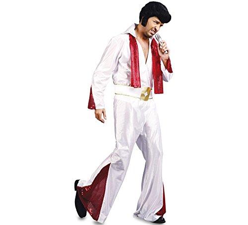 Fyasa 706061-txl Elvis Kostüm, X-Large
