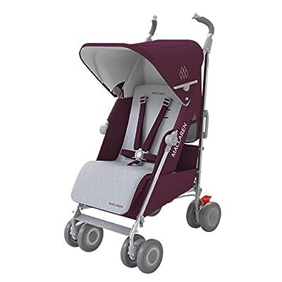 Maclaren Techno XLR Stroller, Plum/Silver by Maclaren