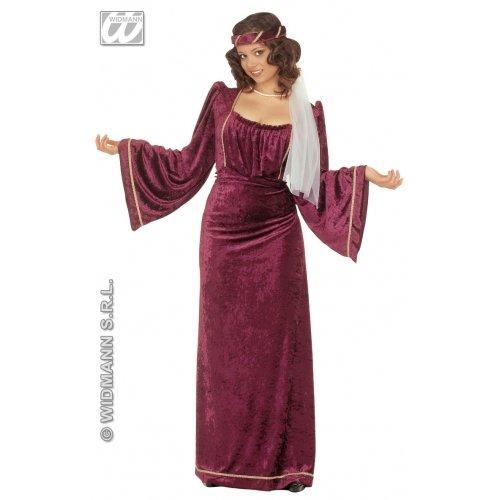 WIDMANN Damen Verführerin, dunkel, Größe S (36-38) für Halloween-Kostüm