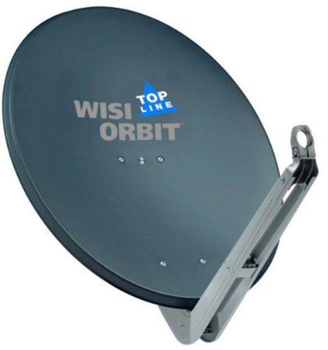 WISI OA85H Satellitenschüssel mit Halterung, grau