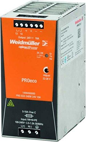 WEIDMULLER 1469490000 – Alimentation Électrique Pro ECO 240 W 24 V 10 A