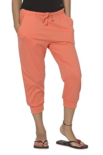 Clifton Women's Comfort Capri - Deep Orange - XXX-Large