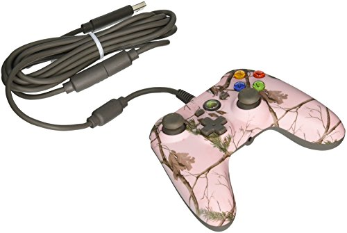 Power A Realtree Mini Pro Ex verkabelter Controller, Pink AP (Xbox 360)