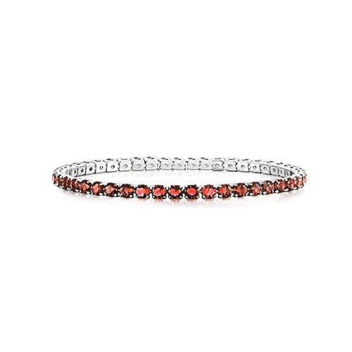 AKKi jewelry Damen Armband Versilbert Strass Armreif Armkette Schmale Dünne Glitzer Kinder Bänder 3mm Wert #4