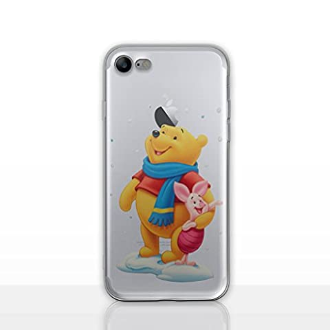 iPhone 7 Winnie L'ourson Étui en Silicone / Coque de Gel pour Apple iPhone 7 (4.7