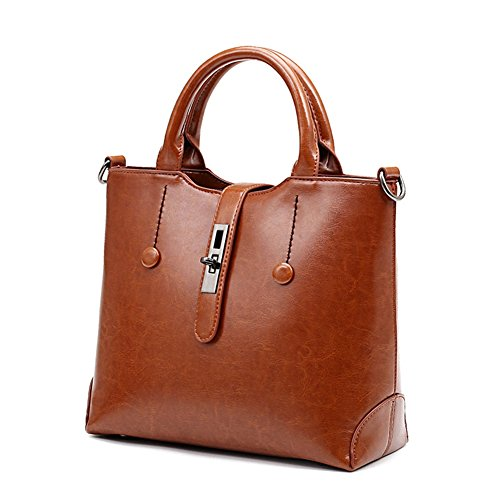 VOLSGEAT Borsa Messenger, Brown (marrone) - LZN_1938 Brown