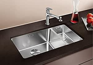Blanco Andano 500 180 U Sink Satin Stainless Steel