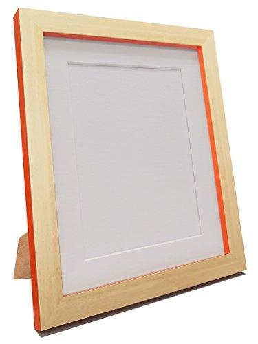 Frames by Post Magnus Buche mit Foto Bild mit Rahmen, Weiß, Schwarz, Elfenbein, Rosa, Blau, Grau und Schwarz mit Halterung, plastik, White Mount, 30 x 20 Inch Image Size A2 (Plastic Glass)