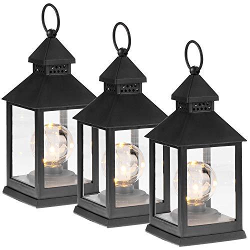 Com-four® Linterna LED 3X función Temporizador -