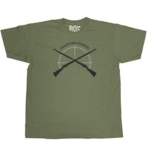 Nicram Designs Herren T-Shirt GREEN + Black/Grey Logo