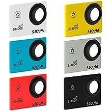 SJCam SJ-6COL-4000W - Kit original SJCAM de 6 carcasas frontales intercambiables compatibles con el modelo SJCAM SJ4000 WiFi, multicolor