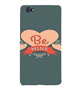 PrintVisa Be Mine Propose Love Design 3D Hard Polycarbonate Designer Back Case Cover for VivoX5Pro