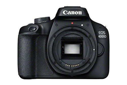 Canon EOS 4000D DSLR Camera Body - Black