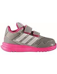 adidas Altarun CF i, Scarpe da Ginnastica Unisex – Bambini, Grigio (Grimed/Ftwbla/Rosimp), 26 EU