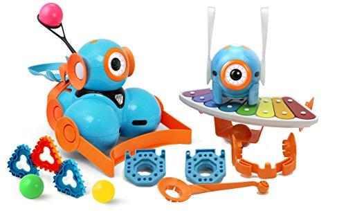 Wonder Set Special Edition von Wonder Workshop: Dash & Dot Roboter mit Katapult, Xylophon und Zubehör-Set - das Spielzeug für Mädchen und Jungen um spielend programmieren zu lernen - programmierbare Lernroboter mit kostenlosen Apps