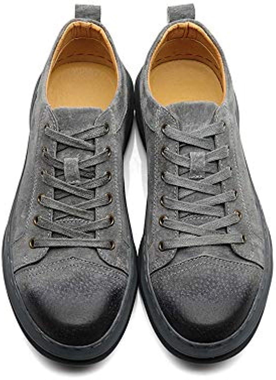 Ywqwdae Scarpe Classiche da Uomo Scarpe Scarpe Scarpe Stringate Sportive Traspiranti Scarpe da Ginnastica rossoonde (Coloreee  ... | benevento  f1d69e