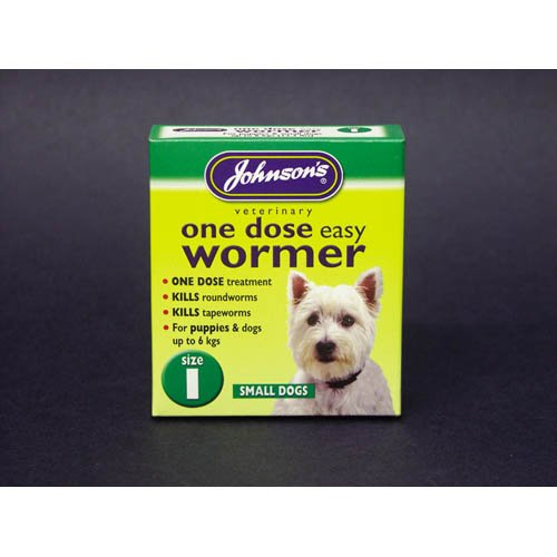 Artikelbild: Johnsons Easy One Dose Dog Wormer Sml Dogs x 3 Tabs