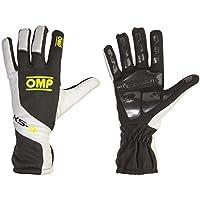 Omp OMPKK02743279XSKs-3Handschuhe, schwarz/weiß/neongelb, Größe XS