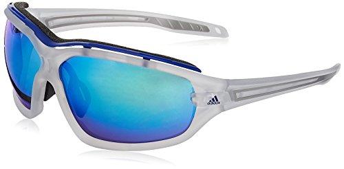 adidas Eyewear Evil Eye Evo Pro L, Farbe Crystal Matt, Größe Blue Mirror/CAT3