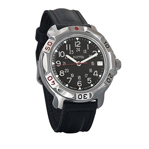 Reloj de pulsera mecánico Vostok Komandirskie, para hombre. con diseño de aviación militar rusa...