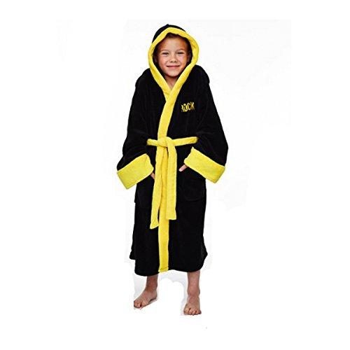 Rocky - Vestaglia / accappatoio per bambini da Rocky Balboa nero 5 anni