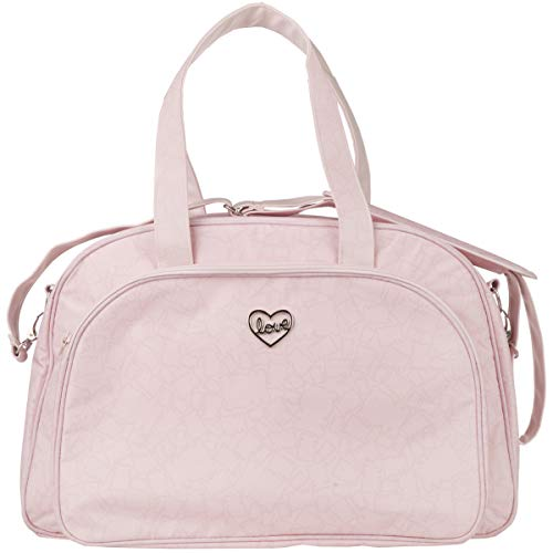 Tuc Tuc Biscuit - Bolsa maternidad y cambiador, color rosa