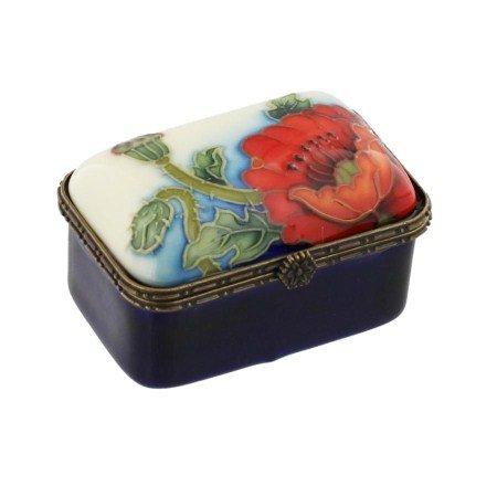 Old Tupton Ware Poppy Design - Small Trinket Box