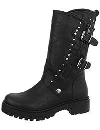 b1576fd2d7dd48 Suchergebnis auf Amazon.de für  bikerstiefel damen  Schuhe   Handtaschen