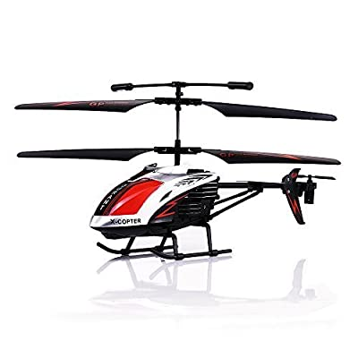 GPTOYS G610 11 Durant Built-in Gyro Infrared Remote Control Helicopter 3.5 Channels with Gyro and LED Light for Indoor Outdoor Ready to Fly by GPTOYS