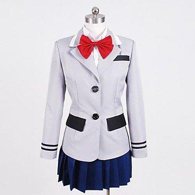 Cosplay Kostüm Touka - Sunkee Tokyo Ghoul Kirishima Touka Cosplay Uniform Kostüme,Maßgeschneidert ( Bitte geben Sie uns Ihr Gewicht, Höhe, Breite, Brust, Taille und Hüfte) (S: 155-160cm, Kirishima Touka cosplay)