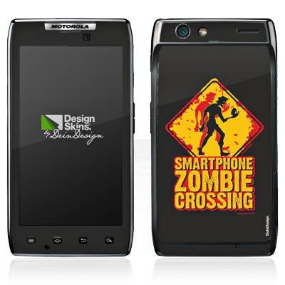 DeinDesign Motorola RAZR Maxx Case Skin Sticker aus Vinyl-Folie Aufkleber Smartphone Zombie Handy Zombie - Razr Handy Skins