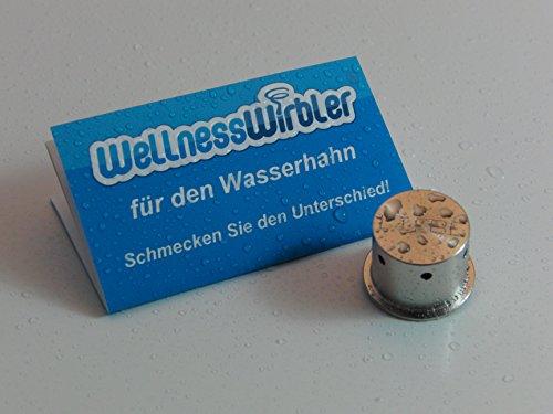 Wellnesswirbler für den Wasserhahn